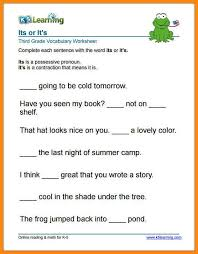 10 3rd grade spelling worksheets math cover