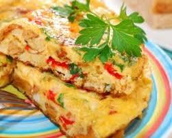 recette de cuisine regime recette de omelette multicolore du régime montignac