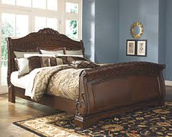 Bedroom Bed Furniture by North Shore King Panel Bed Ashley Furniture Homestore