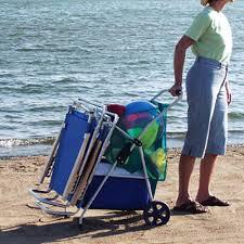 rio folding beach table rio original wonder wheeler beach cart