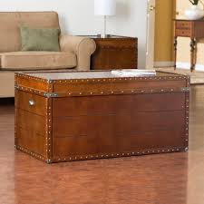 storage trunk coffee table pyramid trunk storage bench coffee table hayneedle