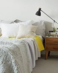 Yellow Feature Wall Bedroom 25 Scandinavian Bedroom Design Ideas