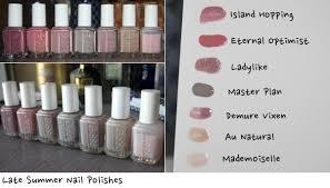 essie nail polish neutral rampage summer 2014 thoseweekenders com