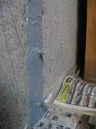 concrete basement wall repair kits stop leaks applied