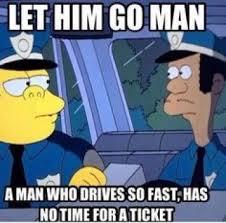 Speeding Meme - the funniest speeding ticket jokes