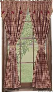 Country Rustic Curtains Best 25 Country Curtains Ideas On Pinterest Primitive Curtains