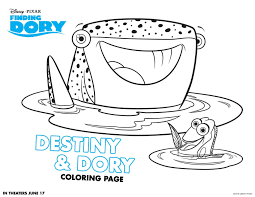 finding dory coloring sheets highlights along the way
