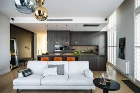 deco salon et cuisine ouverte salon avec cuisine ouverte 40m2 en image homewreckr co