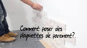 Plaquette De Parement Exterieur Castorama by Comment Poser Des Plaquettes De Parement Youtube