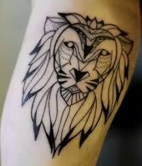 lion skull tattoo sketch design by alyas wonderland pluvyo