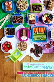 100 healthy delicious and easy lunchbox snacks marla meridith