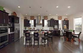 breakfast area off kitchen peacefield floor plan drees homes