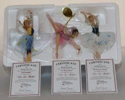 ballerina ornaments vive le ballet set 4 heirloom ornaments by