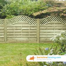 omega lattice top fence panels 6ft x 6ft natural berkshire fencing