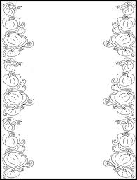 halloween printable writing paper free printable border designs for paper black and white free