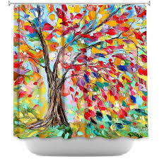 Shower Curtain With Tree Design Adorable Tree Shower Curtains And Mobstub Waterproof Bathroom