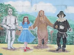 wizard of oz wall mural a photo on flickriver wizard of oz wall mural