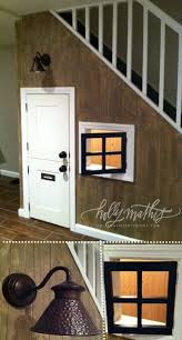 fantastic ideas for under the stairs basement stair dutch doors