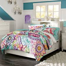 Colorful Comforters For Girls Keala Floral Quilt Sham Pbteen