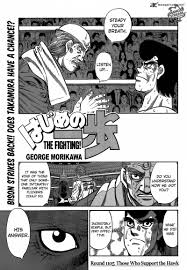 hajime no ippo hajime no ippo 1105 read hajime no ippo 1105 online page 1
