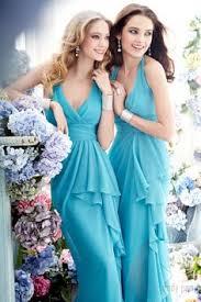 beautiful soft blue bridesmaids dresses www onefabday com one
