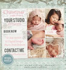 photoshop templates for pro photographers christmas card template