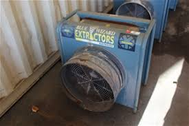 blue wizard pneumatic and dust blastmaster extractor auction 0005