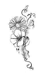 tattoo flower drawings tattoo flower by kuroiryuu666 on deviantart