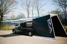 Rear Awning The Commercial Vehicle Show 2016 The Awning Company