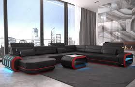 black modern sofa modern leather sofa brooklyn xl shape