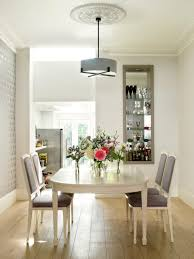 st johns wood dining room with cross braced ceiling light by porta