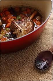 cuisine gigot d agneau manches de gigot d agneau confits au porto blanc et épices douces