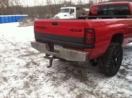 dodge ram custom rear bumper elite rear bumper dodge ram truck 93 02 affordable offroad