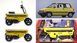 honda micro commuter concept car covering the last mile a history of mixed mode concepts car