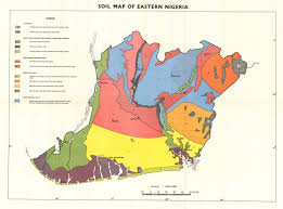 Map Of Nigeria Africa The Soil Maps Of Africa Display Maps