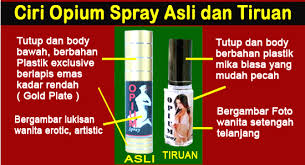 perangsang wanita alami opium spray solusi keharmonisan pasutri