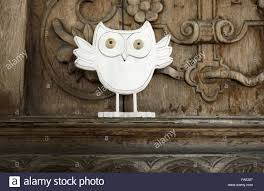 wooden owl ornament part of the 2013 national trust seasonal
