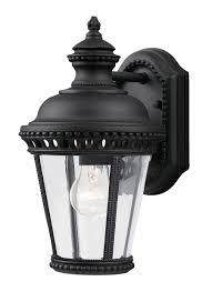 ol1900bk 1 light wall lantern