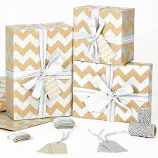 silver christmas wrapping paper silver chevron brown christmas wrapping paper