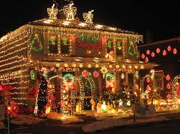 Make Christmas Decorations At Home by Lights House With Christmas Lights To Music Christmas House
