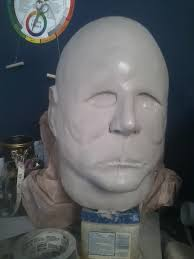 prop showcase michael myers mask wip