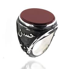 ring of men men s silver ring the ring of imam ali from turkstyleshop