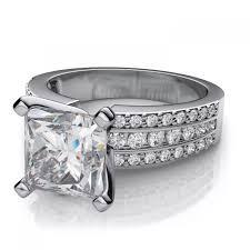 Princess Cut Diamond Wedding Rings by Wedding Rings Princess Cut Diamond Wedding Ring Sets Elegant