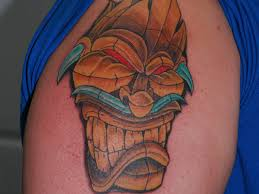 25 magnificent tiki tattoo designs allnewhairstyles com
