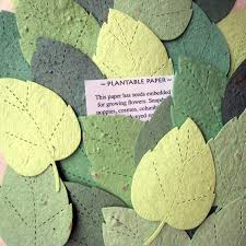 flower seed paper 200 seed rustic garden wedding favors seed paper leaves