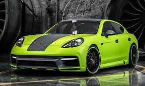 lime green bentley carscoops porsche panamera