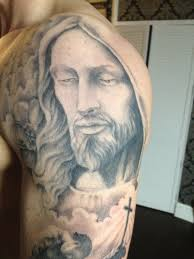 25 beautiful christian shoulder tattoos