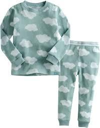 vaenait baby 12m 7t boys sleepwear pajama top