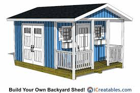 covered porch plans 12x20 gable shed with covered porch 12x20 shed plans