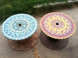 touret bois deco 1001 idées astuces brico pour créer une table en touret